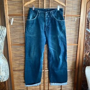 Japan only / made Levi's rubber tag J41 7702-20